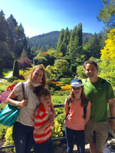 Our trip to Vancouver Island was a highlight. We love Butchart Gardens!