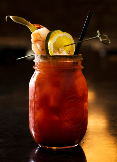 Can we all just agree that the best thing about a Caesar is the meal-like garnish? Image courtesy Rodney's Oyster House.