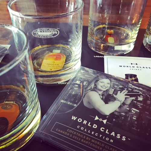 World-class whisky to accompany World Class Canada competition details.