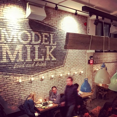 Model Milk hosts a Sunday Supper with a different theme every week. It costs $40 per person and includes starters, main and dessert.