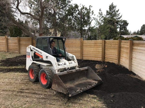 Blake excavator