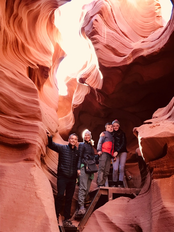 Family Antelope Canyon