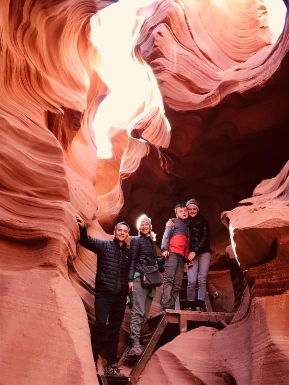 Family Antelope Canyon